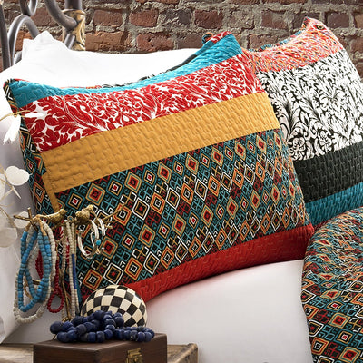 Boho Lush Stripe Bedding Set *SHIPS ONLY IN US*