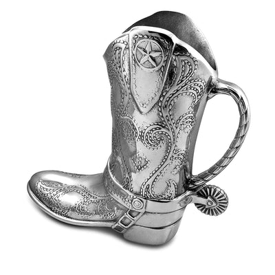 Cowboy Boot Pitcher *SHIPS ONLY IN US*