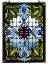 *HAND CRAFTED* Fine Art Tiffany Window Panel *SHIPS ONLY IN US*