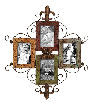 Boho Family Photo Frame *SHIPS ONLY TO US*
