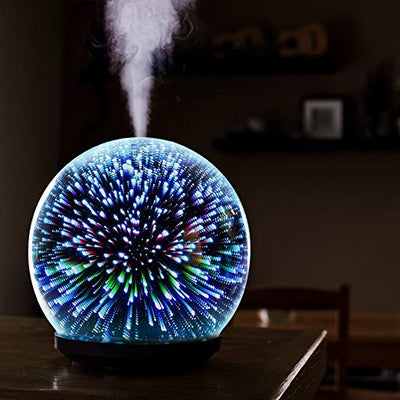 3D Glass Aromatherapy Humidifier *SHIPS ONLY IN US*