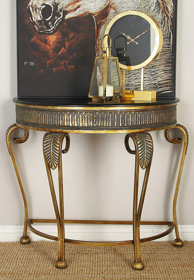 Metal Console Table *SHIPS ONLY IN US*
