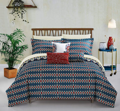 Tribal Inspired Comforter Set *SHIPS ONLY TO USA*