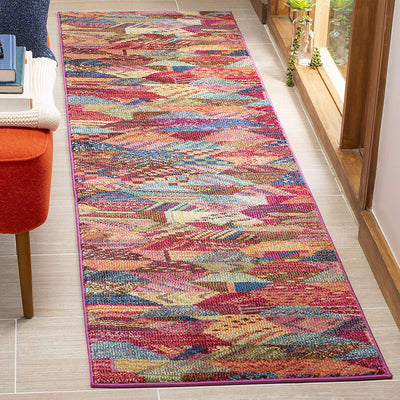 Monaco Boho Multi Area Rug *SHIPS ONLY IN US*