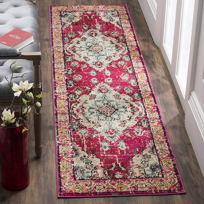 Vintage Moroccan Bohemian Rug *SHIPS ONLY IN US*