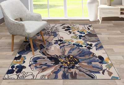 Autumn Modern Area Mat *SHIPS ONLY TO USA*