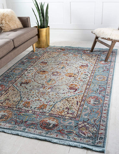 Vintage Modern Washed look Rug *SHIPS ONLY IN US*