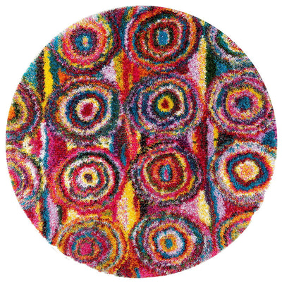 Rainbow Shag Rugs *SHIPS ONLY TO USA*
