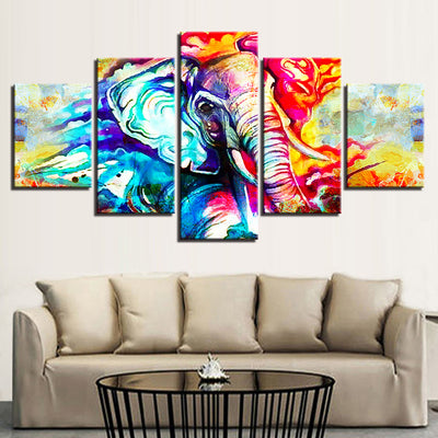 Ganesha 5pc Canvas Set *FREE SHIPPING*