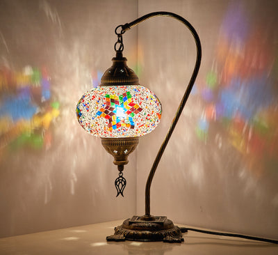 *Handmade* Boho Swan Lamp *SHIPS TO USA/CA/AU/UK*