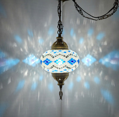 *WALL PLUG-IN* Boho Swag Accent Pendant's *SHIPS TO US/CA/AU/UK*