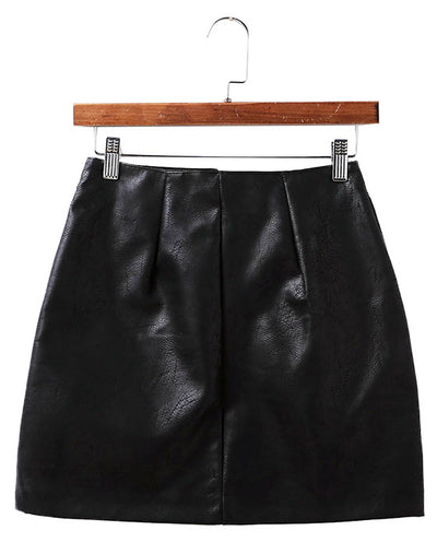 Rock-On Retro Embroidery Skirt