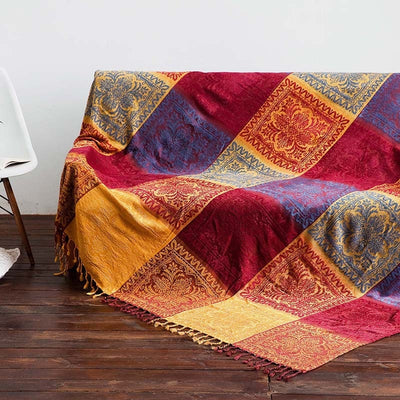 *HANDMADE* Bohemian Multi-Use Blanket *FREE SHIPPING*