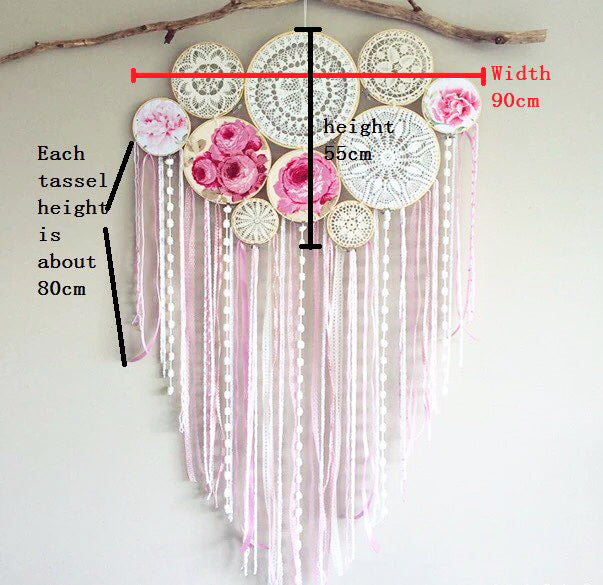 Boho Crochet Mandala Dream Catcher Free Delivery Top