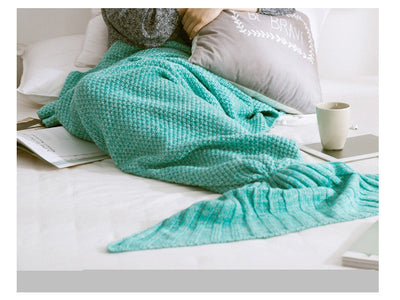 *HANDMADE* Mermaid Tail's Soft Crochet Blanket *FREE SHIPPING*