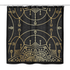 Chandelier Mandala Shower Curtain