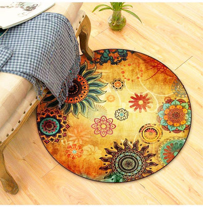 LUXURIOUS INDOOR/OUTDOOR ROUND RUG *CUSTOM MADE*