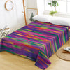 Playful Colored Stripes Bedsheet *FREE SHIPPING*