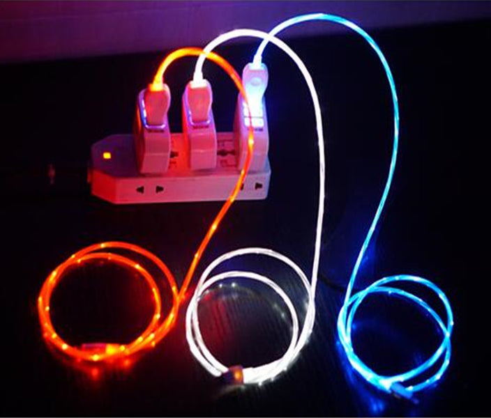 Flow LED Charger for Micro USB Devices