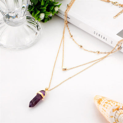 Bohemian by Heart Quartz Necklace *FREE SHIPPING*