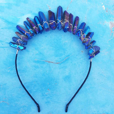 Artilady Crystal Crown Headband *FREE DELIVERY*