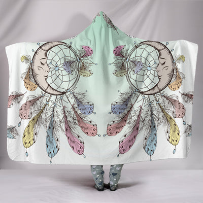 Moon Dreamcatcher Hooded Blanket *Free Worldwide Shipping*