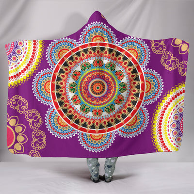 Henna Hooded Blanket *Free Worldwide Shipping*