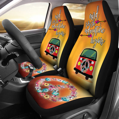 Adventure Begins Car Seat Covers *FREE EXPRESS LINE DELIVERY