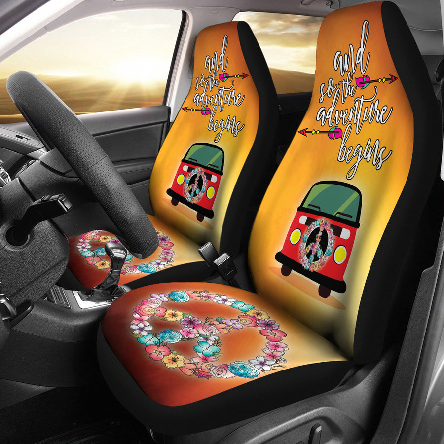 Good Vibes Car Seat Cover Free Express Line Delivery Top
