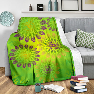 Green Leaf Premium Blanket *WORLDWIDE FREE SHIPPING*