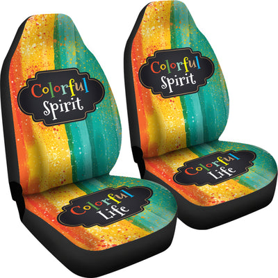 Colorful Spirit Seat Cover *FREE EXPRESS LINE DELIVERY*