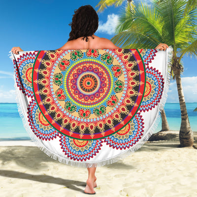 Colorful Bloom Beach Blanket *WORLDWIDE FREE SHIPPING*