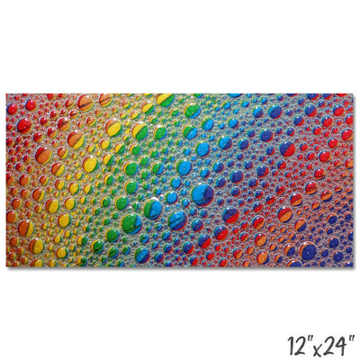 *HANDMADE* Glow Color Bubbles Wall Art *WORLDWIDE FREE SHIPPING*