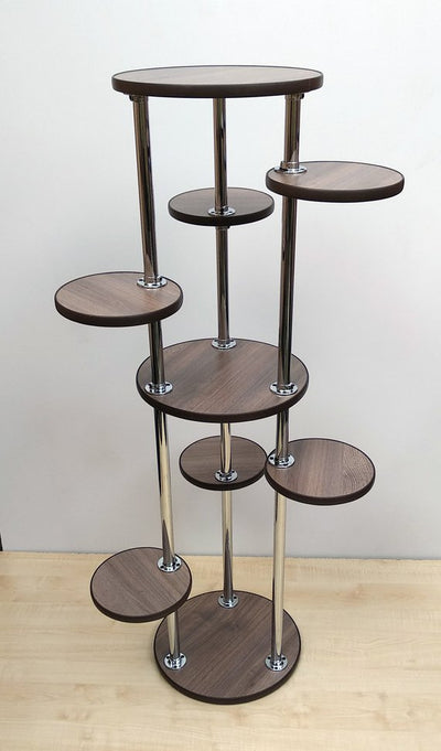 *HANDMADE* Indoor Tiered Wood Plant Stand *WORLDWIDE FREE SHIPPING*