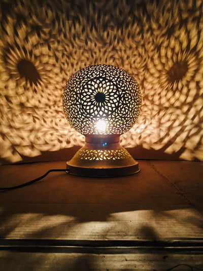 *HANDMADE* Moroccan Table Lamp *FREE WORLDWIDE DELIVERY*