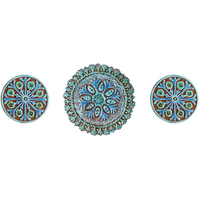 *HANDCRAFTED SET OF 3* Boho Garden Decor *FREE SHIPPING*