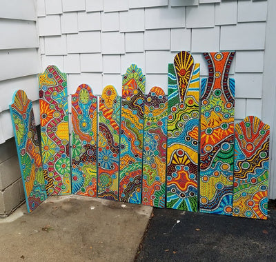 *HANDMADE* Exclusive Artist Painted Porch/Patio Signs *SHIPS ONLY IN US*