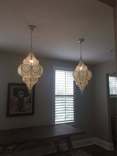 *HANDMADE* Moroccan Pendant Lights *FREE WORLDWIDE DELIVERY*