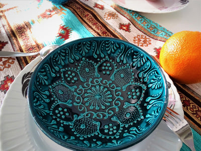 *HANDMADE* Boho Mandala 5Pc's Bowl Set *WORLDWIDE FREE SHIPPING*