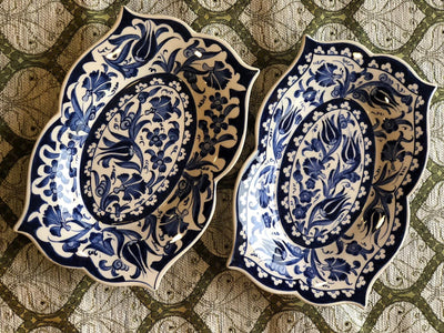 *HANDMADE* Meze Plate Set of 2 *WORLDWIDE FREE SHIPPING*