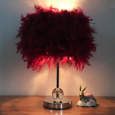 Fluffy Table Lamp *FREE WORLDWIDE DELIVERY*
