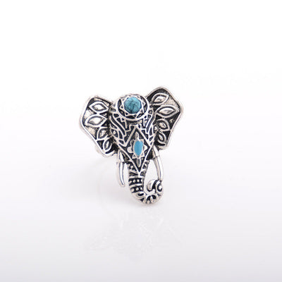 Turkish Turquoise Ring Set