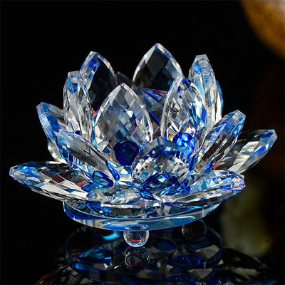 Crystal Glass Lotus Flower *FREE DELIVERY*