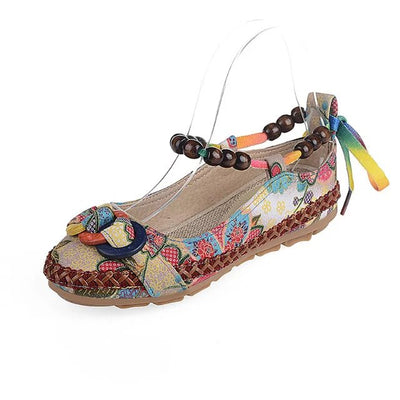 Beaded Lace Up Shoes *FREE SHIPPING*