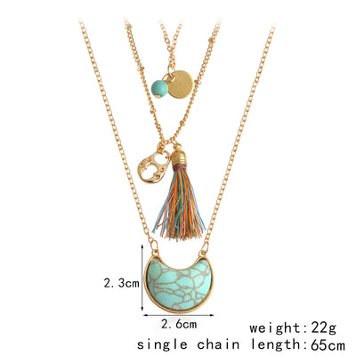 Boho Trumpet Multilayer Necklace *FREE SHIPPING*