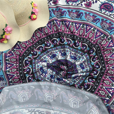 Indian Elephant Dreams Beach Blanket *WORLDWIDE FREE DELIVERY*