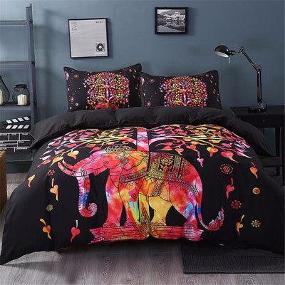 5Pcs Elephant Duvet Cover Sets *FREE DELIVERY*