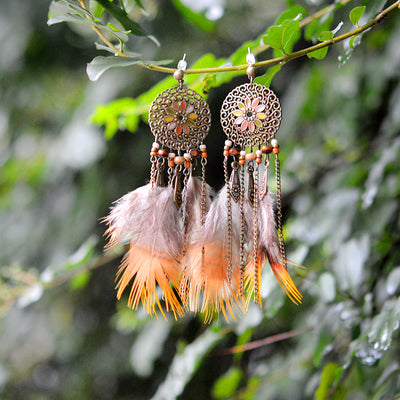 Hippie Chic Dreamcatcher Earrings *FREE SHIPPING*