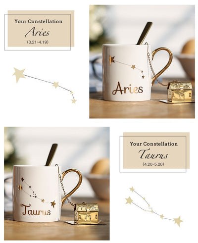 Lucky Constellation Mug Kit with Gift Box