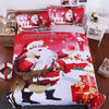 Bright Red Santa Clause Duvet Cover Bedding Set *FREE SHIPPING*